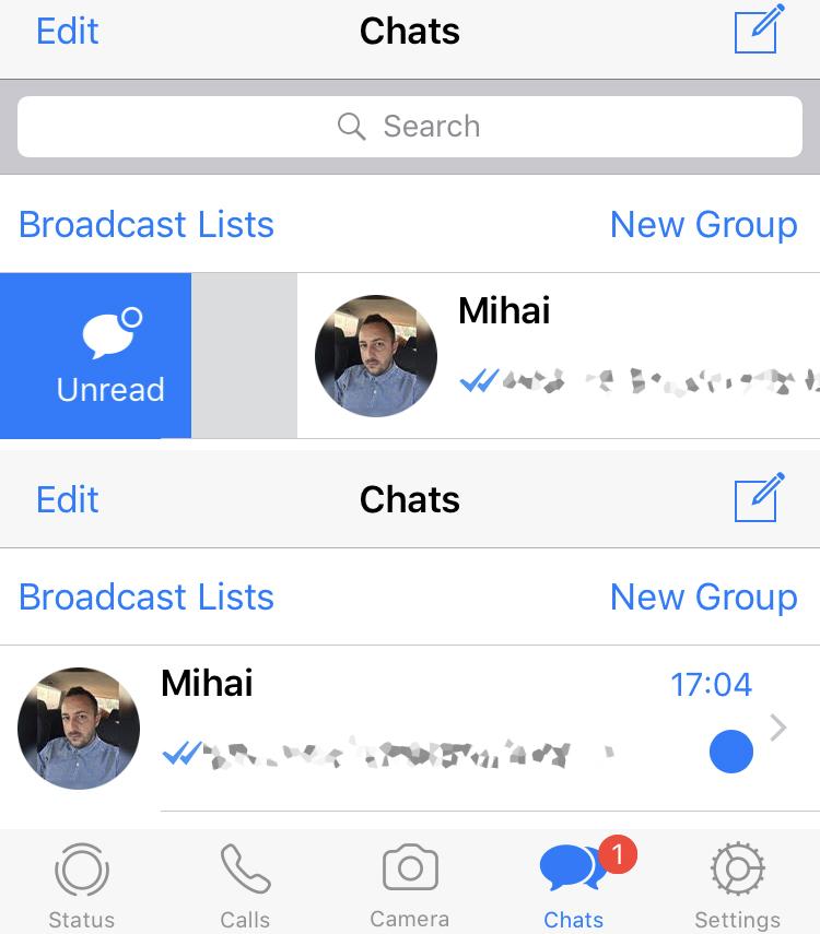 Whatsapp Ungelesen Obwohl Gelesen