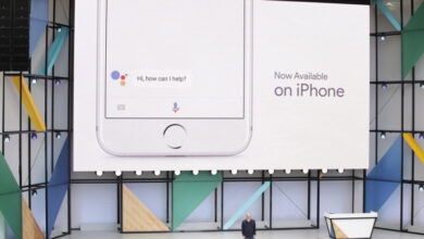 Foto del Asistente de Google para iOS (iPhone / iPad / Apple TV) - ¿Mejor que Siri?