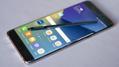 Foto av Samsung Galaxy Note 7R, den reviderade versionen av Samsung Galaxy Note 7R