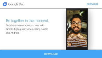 Foto do aplicativo de HD e áudio e vídeo grátis no iOS e Android - Google Duo