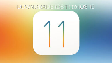 A foto do downgrade do iOS 11 para o iOS 10.3.3 foi interrompida por Apple