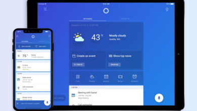 Photo de Microsoft a publié une version dédiée de l'application assistant Cortana pour iPad